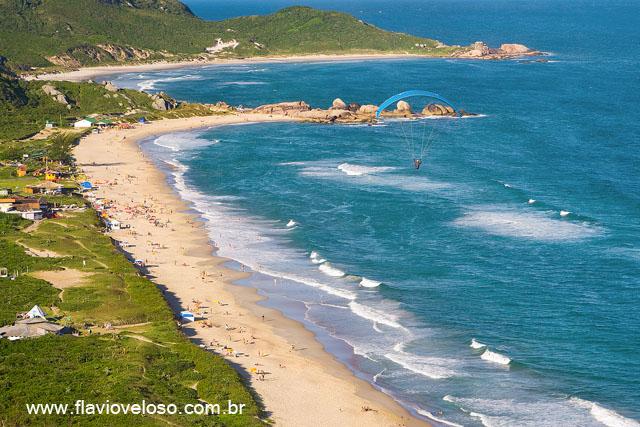 Praia da Mole com parapente, Florianopolis, Santa Catarina _0666