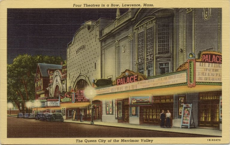 Theater Row looking South on Broadway (Rt 28)