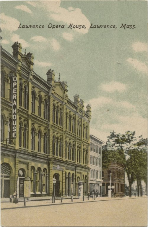 Postcard of the Lawrence Opera House