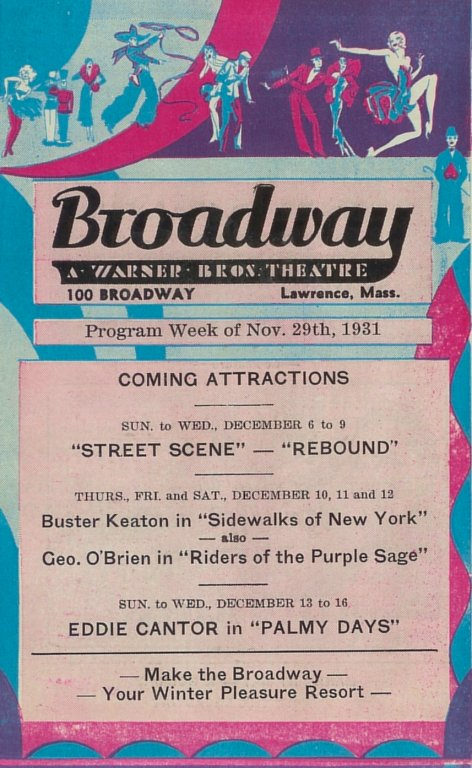 Broadway Theater Playbill