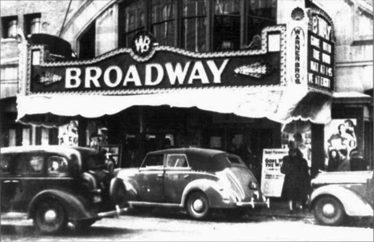 Broadway Theater 1939
