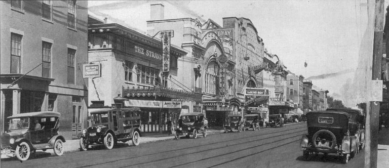 Theater Row 1920s
