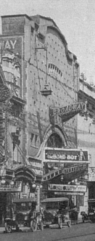 The Broadway in the 1920s