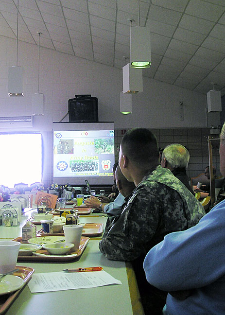 At Breakfast - A Review of the Fort Gordon planned exercise