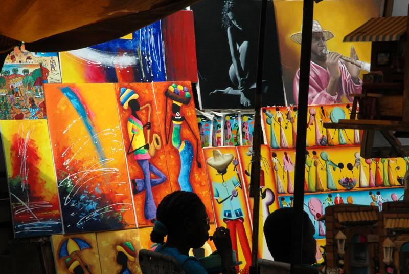 Fair at Tacón St. - Havana