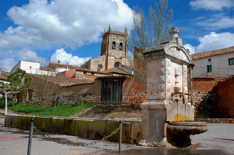 Fountain in Villahoz