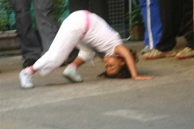 capoeira - typical brazilian dance and fight