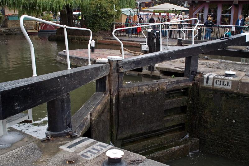 Camden lock gates