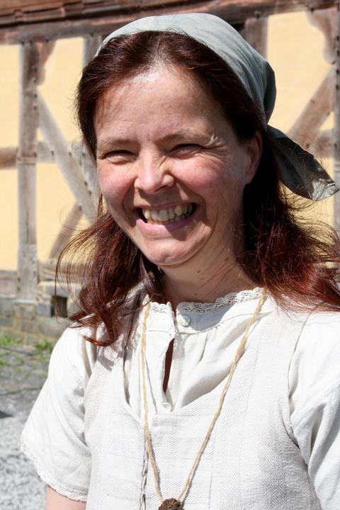 Ursula Buddeus, die Kräutermarie