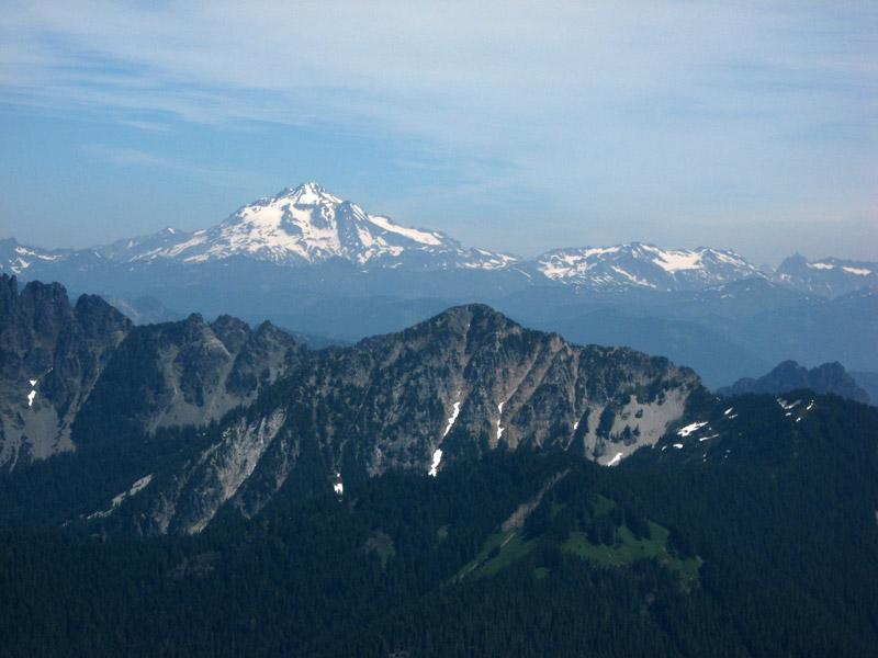 Glacier Peak from Gunn