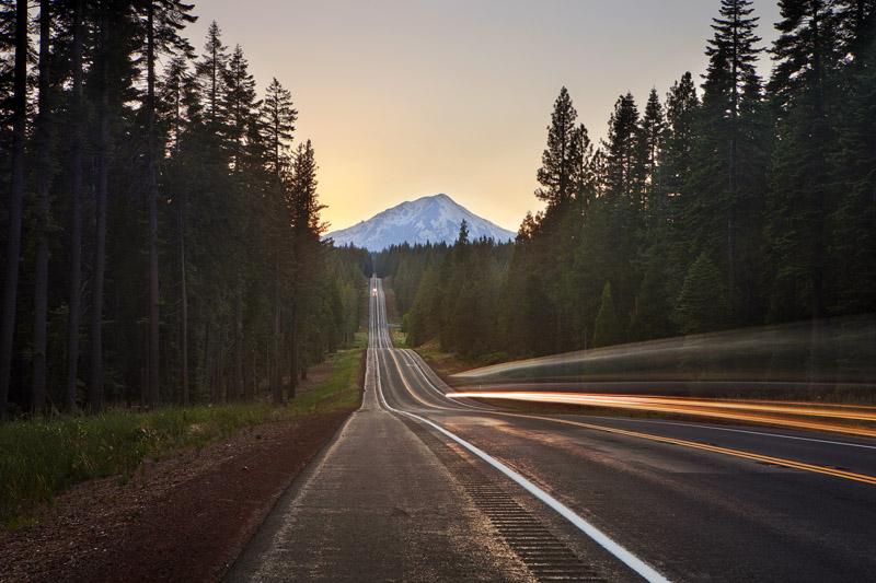 Toward Mt. Shasta
