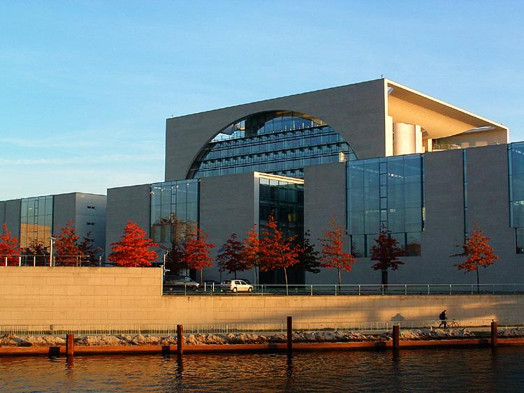 Modern building in western Berlin