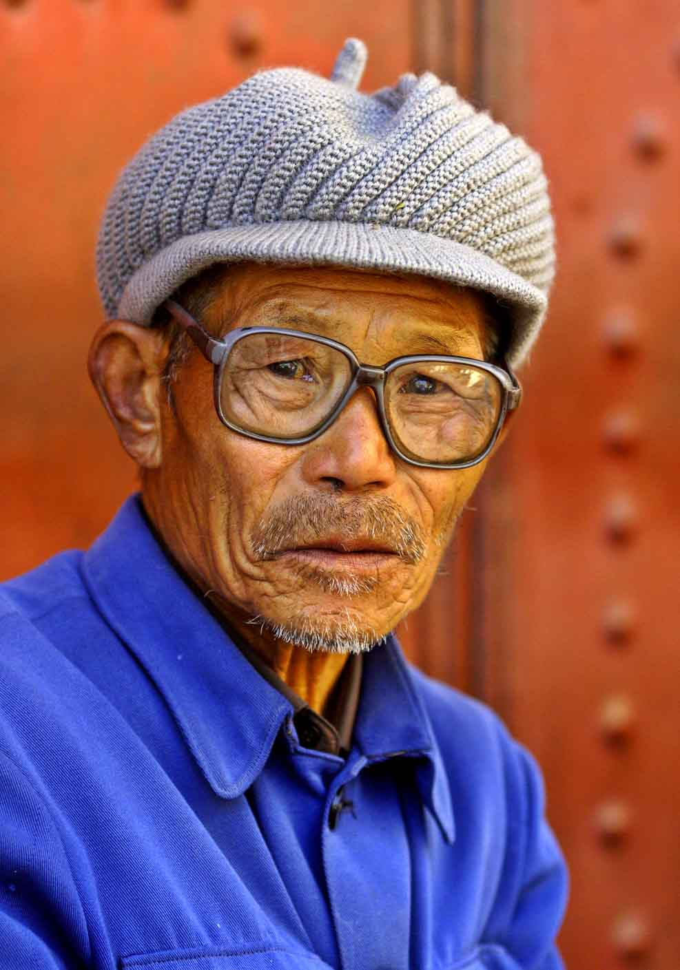 Elder in Dali, China