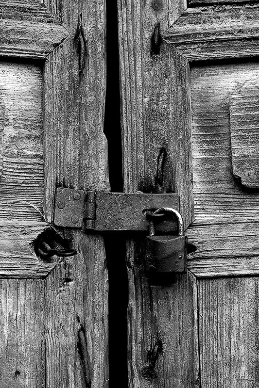 Lock and door