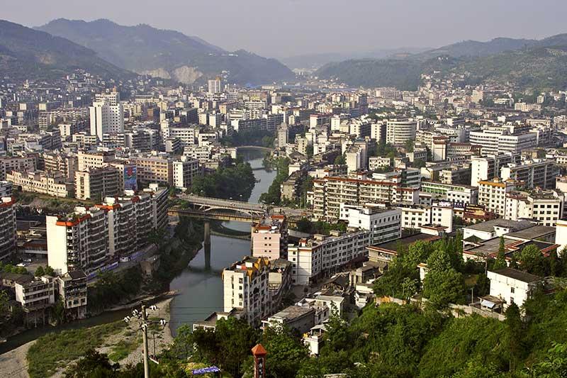 Northern Jishou City, Hunan Province, China