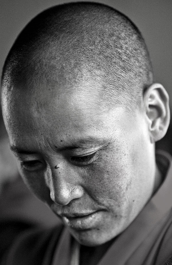 Tibetan ani (nun), near Lhasa