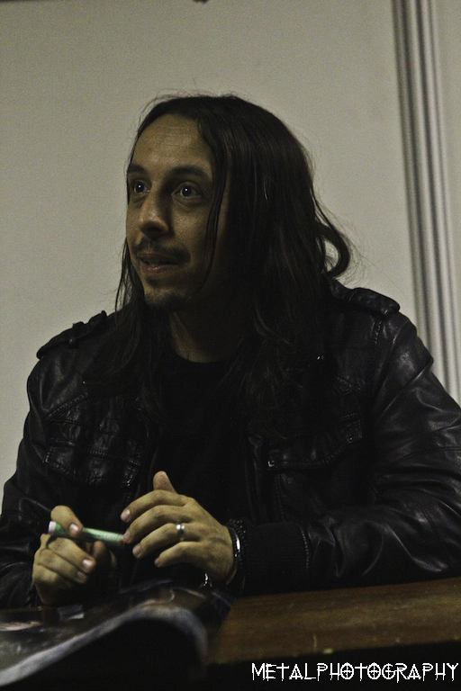 Lacuna Coil signing session
