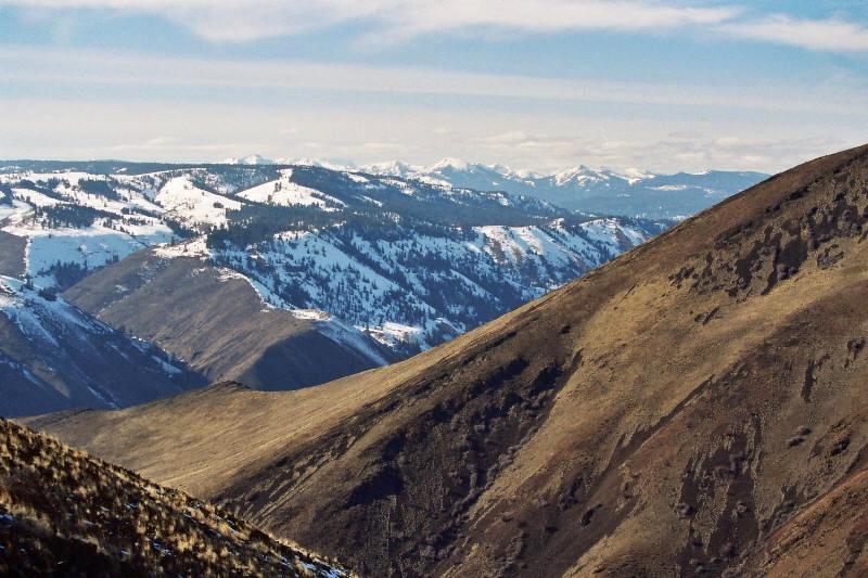 Cascade Mountains view