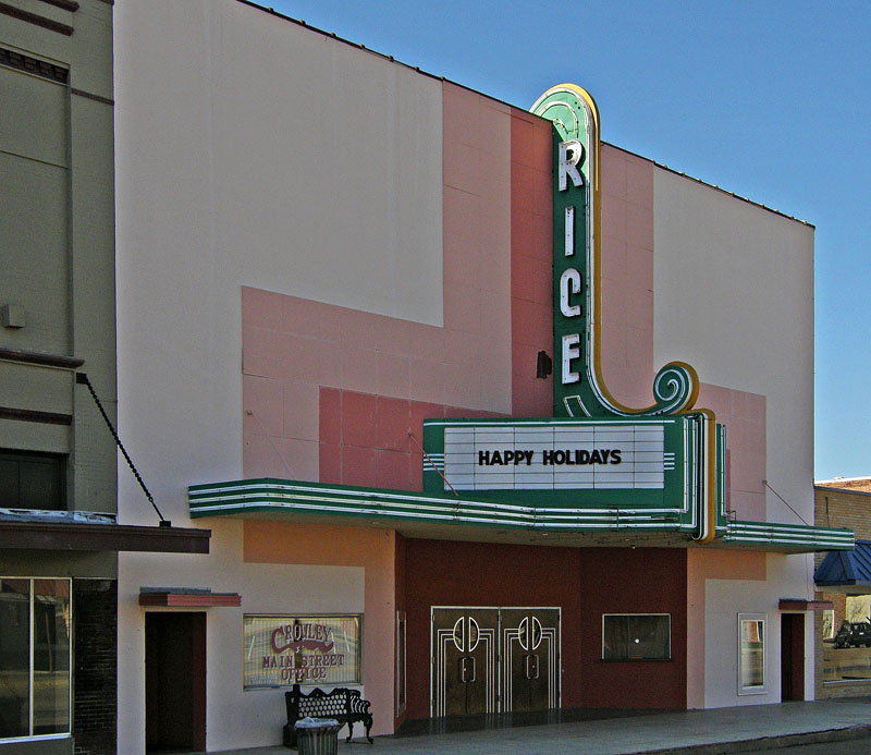 The Rice Theater, Crowley, LA  1941 to Late 60s