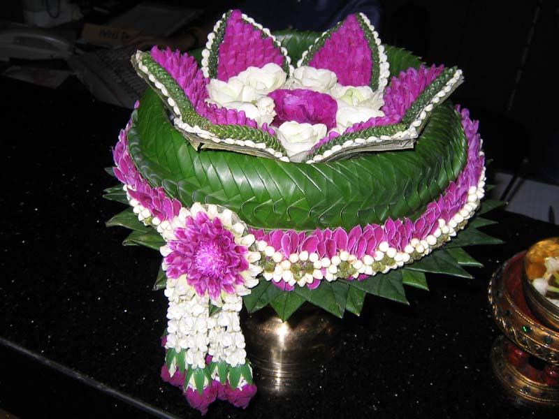 Songkran water bowl