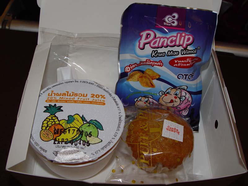 Thai Air Economy Lunch