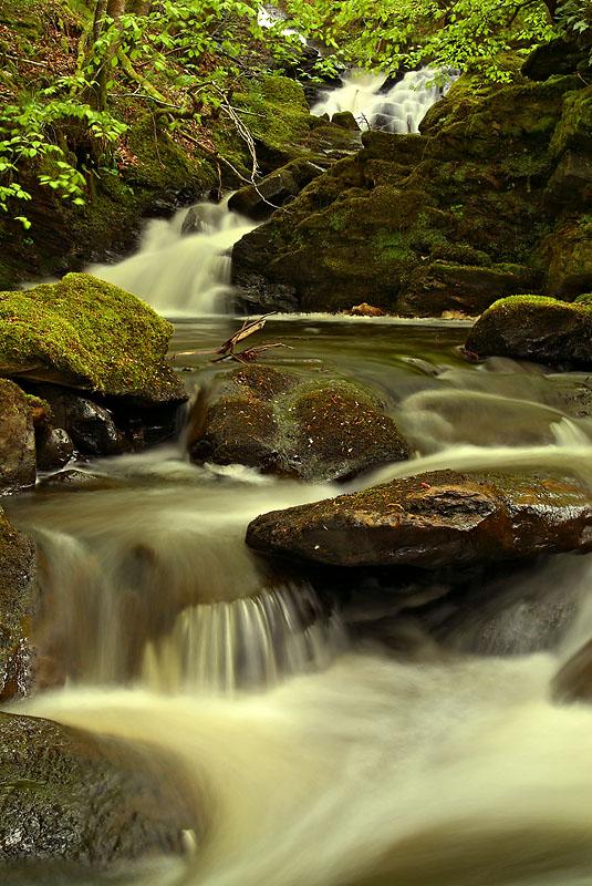 Falls near Loch Tay