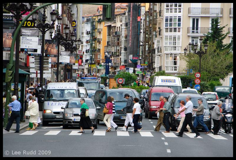 Santander Street Scene