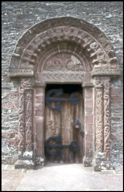 Norman Doorway .
