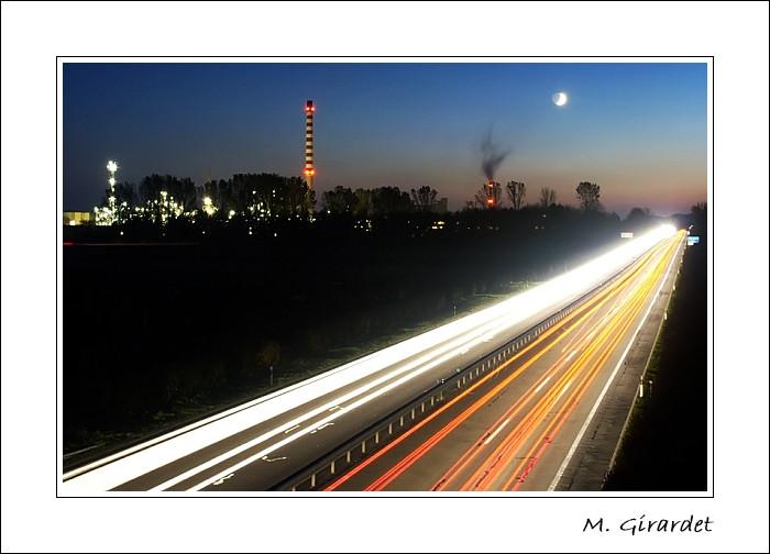 Autoroute du soir - 4e place