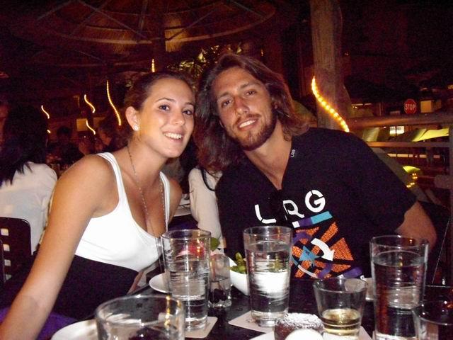 Brea and Ross at Roys Waikiki
