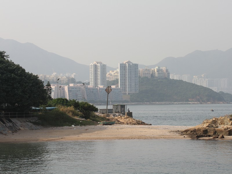 Discovery Bay from Peng Chau