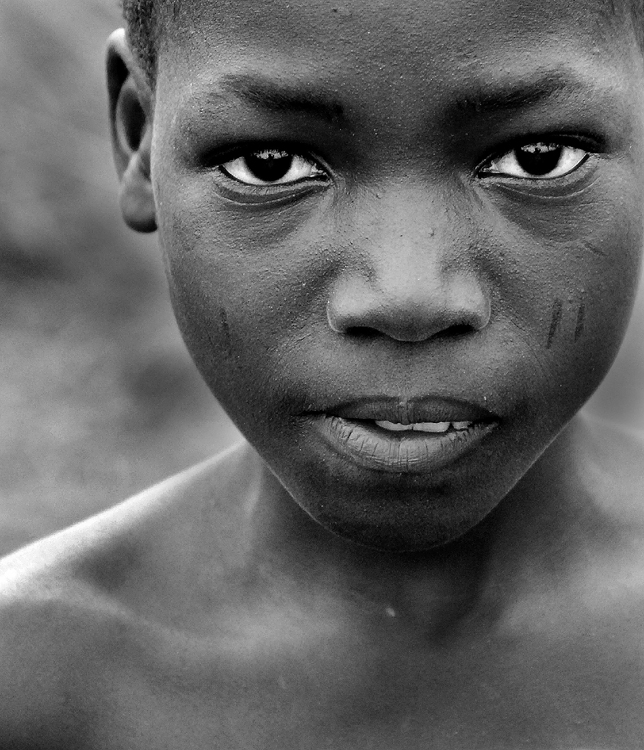 West africa black white