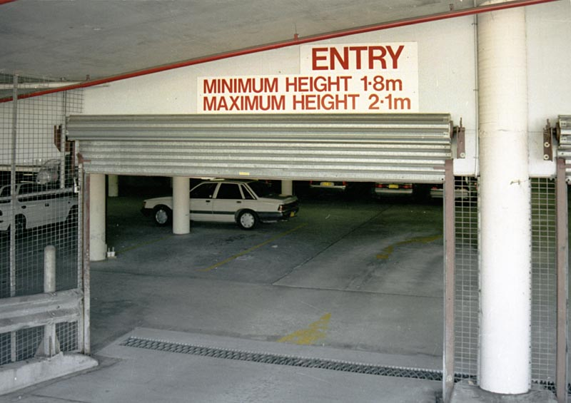 Limited parking