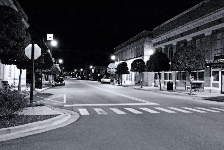 Corinth at Night