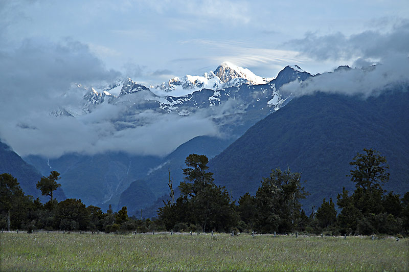 Mt Cook from Fox