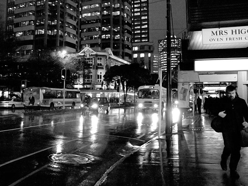 Wellington by night