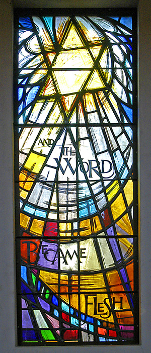 ...and the word became flesh...
