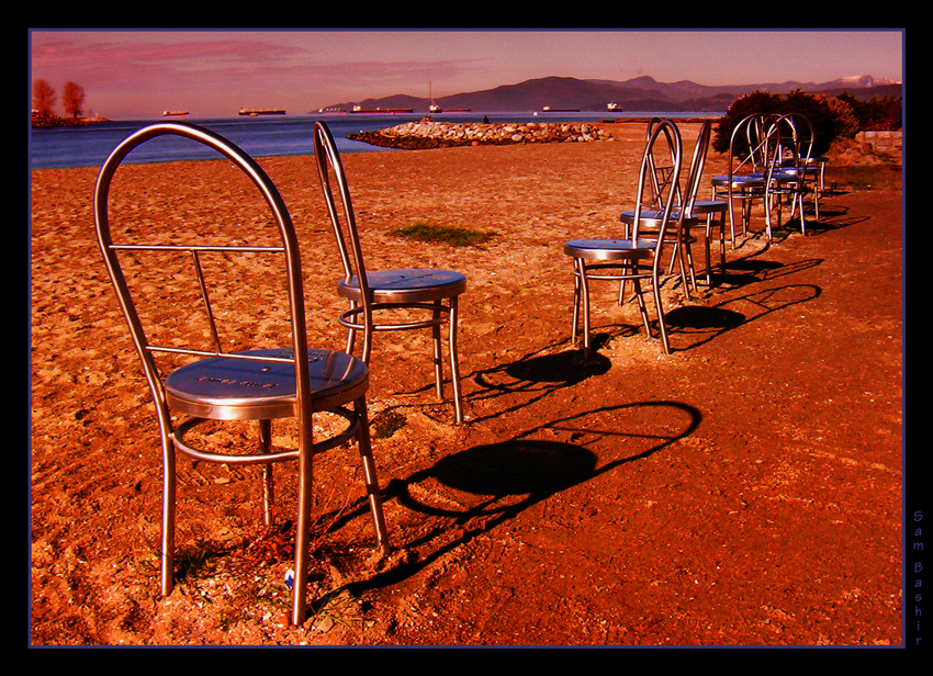 Chairs on Vacation