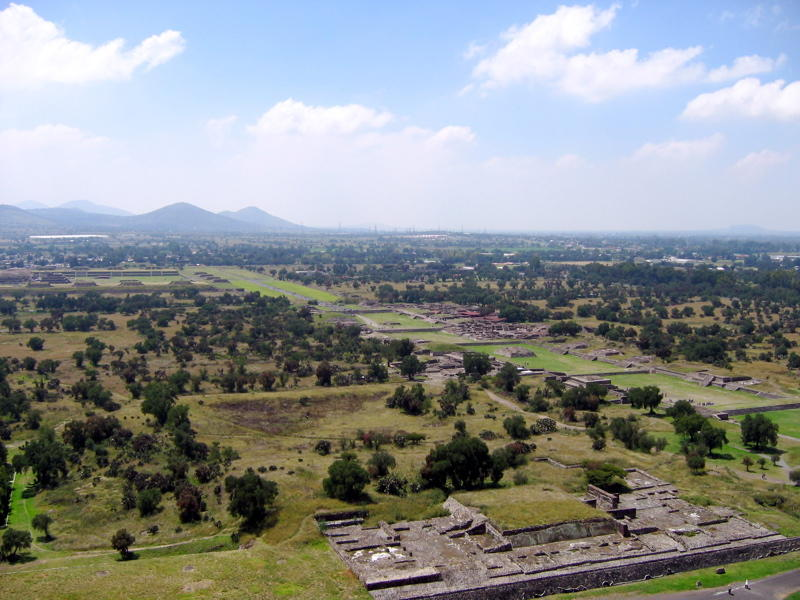 Teotihuacan Pyramid Avenue of the Dead