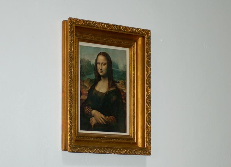 Mona Lisa in San Diego