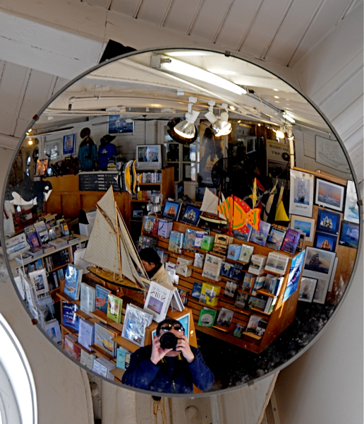 At the Maritime Museum Book Store