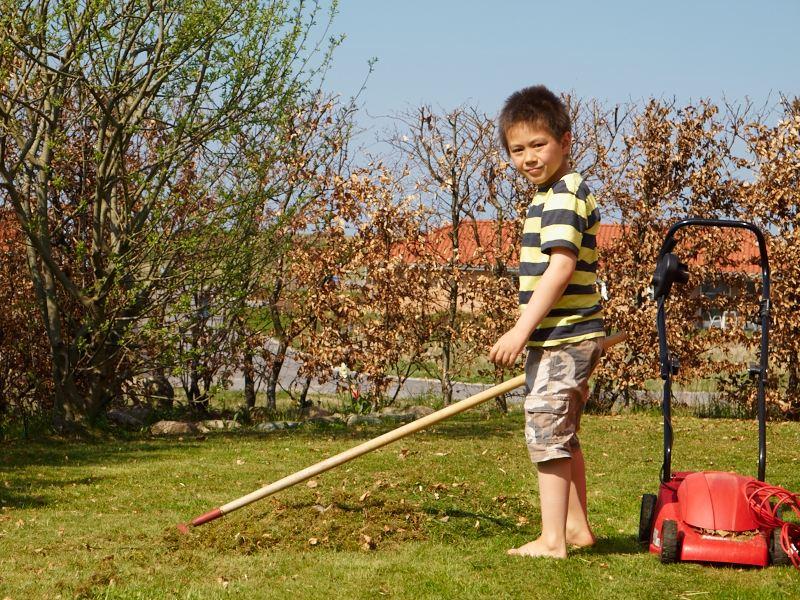 2011-04-22 Oliver gardening