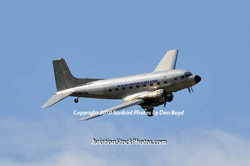 TMF Aircraft R4D-8 Super DC-3 N587MB cargo airline aviation stock photo #5225