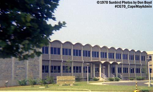 1970 - Administration building at the Coast Guard Recruit Training Center Cape May, NJ, photo #CG70 CapeMayAdmin