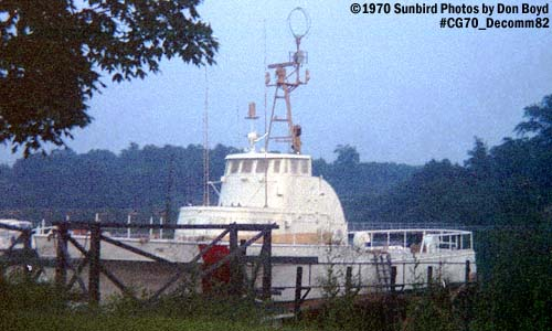 1970 - Decommissioned 82 foot WPB at the Coast Guard Yard photo #CG70 Decomm82