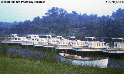 1970 - out of service utility boats at the Coast Guard Yard photo #CG70 UtilityBoats