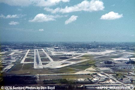 1976 - short final approach to runway 9-left at Miami International Airport stock photo #AP76_MIAapp_2