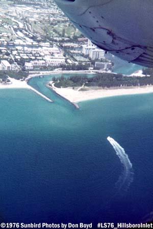 1976 - Hillsboro Inlet, FL aerial stock photo #LS76 HillsboroInlet_1