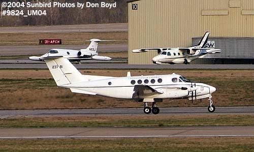 USAF Beech C-12D Huron 82-23781 military aviation stock photo #9824