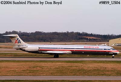 American Airlines MD-83 N971TW (ex TWA) aviation airline stock photo #9859